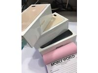 Iphone 7 plus 128gb Gold unlocked with apple waranty