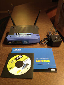 Wireless Router, Linksys WRT54G