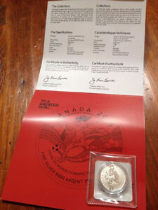 2015 $20 FIFA Women's World Cup - Silver Commemorative West Island Greater Montréal image 2