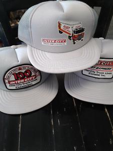 Old trucker hats $10 each-Vintage surplus rare stock- never worn