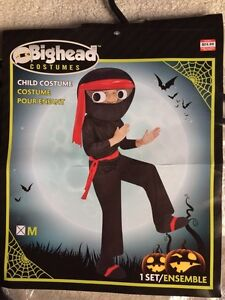 Child's Big Head Ninja Costume