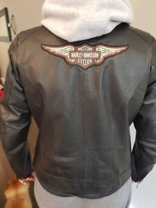 Ladies Leather Harley Davidson Jacket