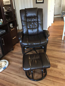 Like new glider recliner