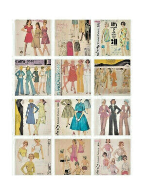 22 Vintage 1960s SECRETARY Day Jackie O Style McCALLs SIMPLICITY Dress PATTERNS