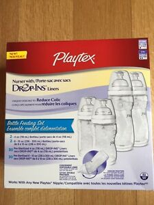 NEW! Playtex Bottle Feeding Set