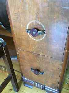 Antique dressing table and bench Stratford Kitchener Area image 2