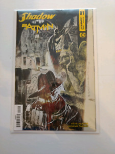 The Shadow Batman #1F Variant by Bill Sienkiewicz  DC Comics