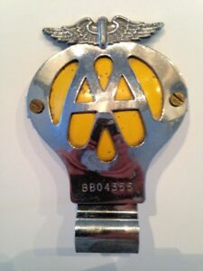 Automobile association grille badge from the UK