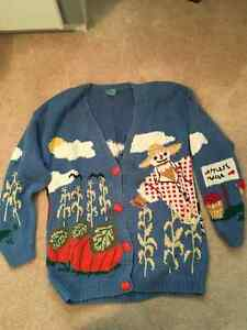 Fall Cardigan Sweater - very thematic!