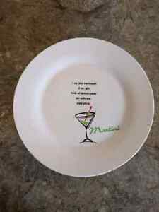 8 cocktail plates