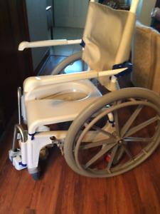 Aquatec Shower Wheelchair Commode