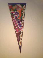 MLB collectable pennants