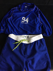 Old Navy Size 8 swim suit with rashguard