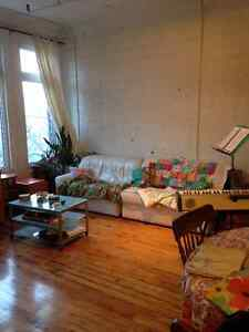 Roommate wanted for beautiful Plateau apartment!