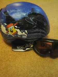 Ski / Snowboard Helmet and Goggles - Junior / Child