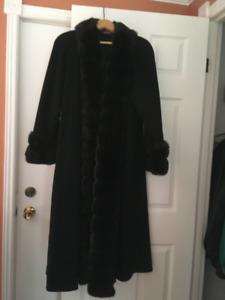 Full length petite coat