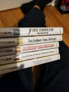 3ds nintendo ds games sale or trade