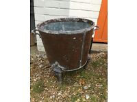 Copper coal bucket