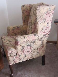 Wing Back Chair from Wheaton's