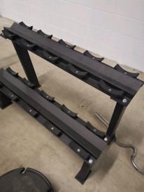Dumbbell rack (empty)