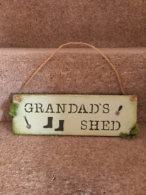 Grandads Shed Sign