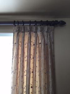 Beautiful Accent Curtains