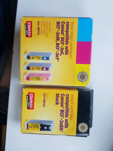 Staples Brand Canon Printer Ink