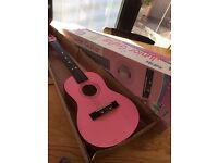 Children's half size guitar