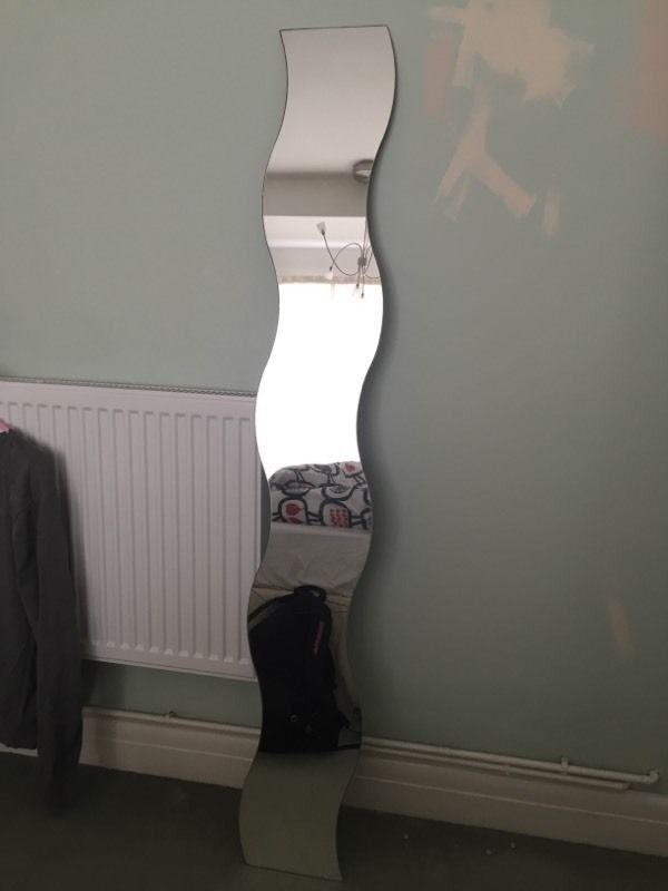 Ikea Wavy Mirror No Brackets In Moortown West Yorkshire
