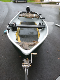Pike fishing boat