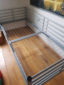 Single bed with mattress free