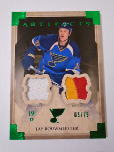 2013-14 UPPER DECK ARTIFACTS, JAY BOUWMEESTER,  HOCKEY CARD!!!