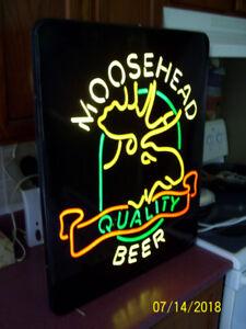 Moosehead  Bar Sign (non neon)