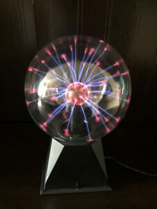 Little Plasma Ball Lamp with and Audio-Activated Setting!