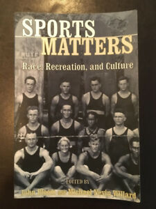Sports Matters : Race, Recreation, and Culture