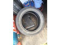 Car Tyres 120 part worn job lot