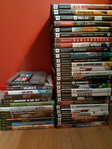 Various video games