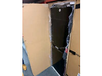 Brand new in the box tall black Hoover fridge freezer £300