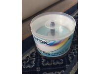 TDK Blank CDs