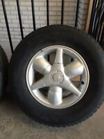 Rims and tires 2001-2004 Nissan Pathfinder