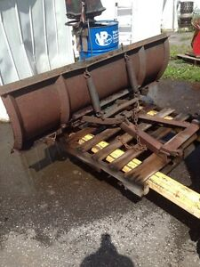 6 ' Manual Angle Snow Plow Blade & A Frame