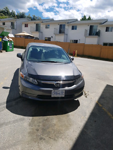 2012 honda civic manual transmission