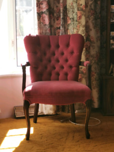 Set of Two Upholstered Armchairs