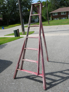 Antique Apple Orchard Ladder - Nice Patina