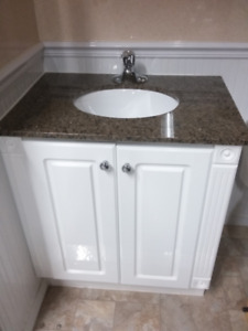 "30"" Vanity with Granite Top"