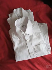 M&S boys schoolshirts