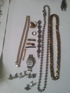 Mens stainless steel jewellery some very heavy