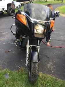Yamaha Venture ready to go