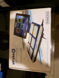 Stryke6 drum controller for ipad