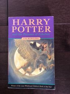 Harry Potter & the Prisoner of Azkaban, Fiction, Novel